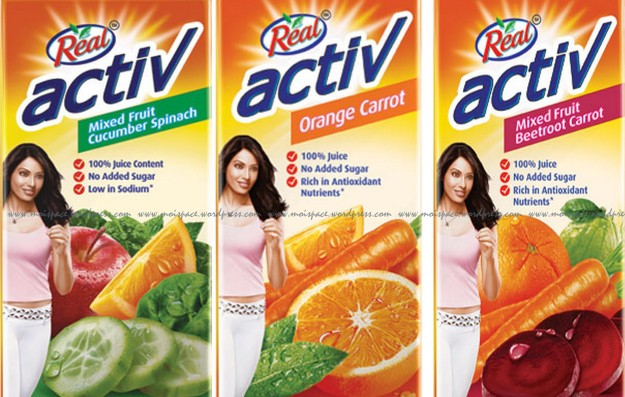 Do-It-Yourself (DIY) Real Active Mixed fruit & vegetable juices Inspired Fruit-Veggie Juice